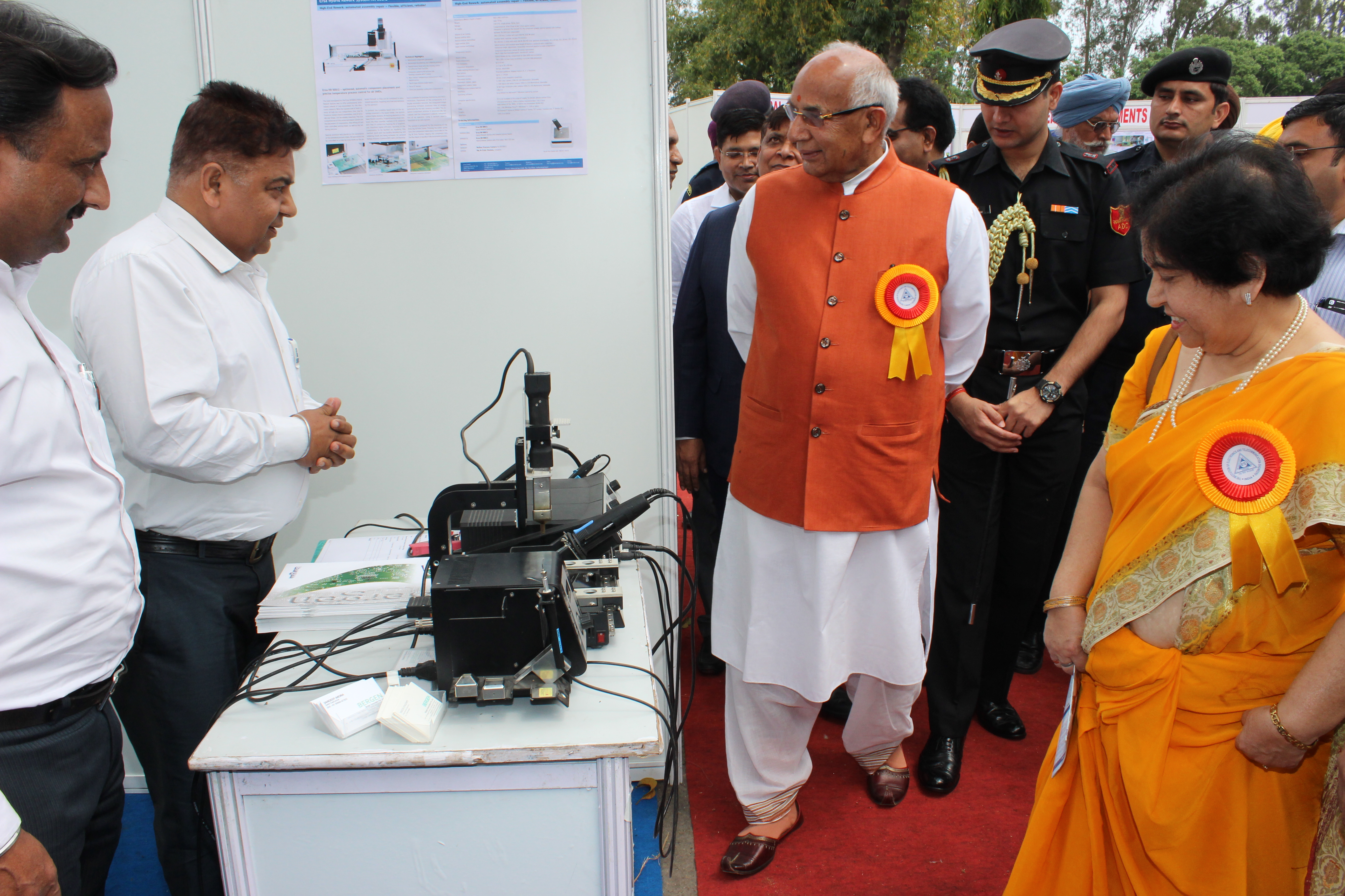 Honorable Governor Punjab & Haryana's visit